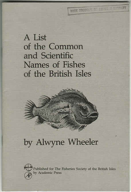 Books on british sea fish and saltwater fishes for Scientific name of fish